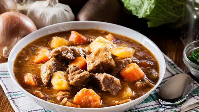 Not just for St Patrick's Day: Irish stew.