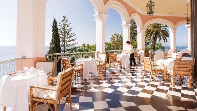 Reid's Palace, a Belmond hotel in Madeira, Portugal, has been welcoming guests since 1891.