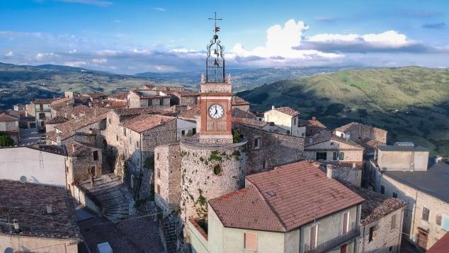 Castropignano is selling houses for 1 euro