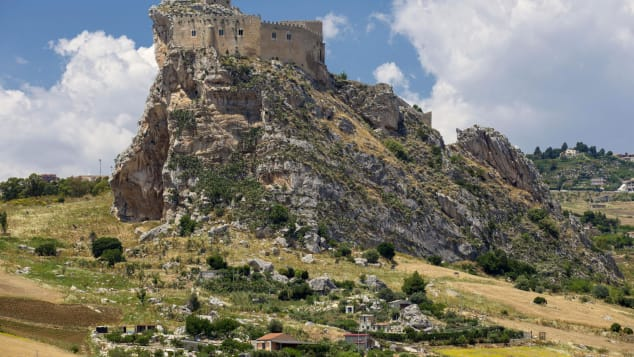 Mussomeli's location is in spectacular central Sicily.