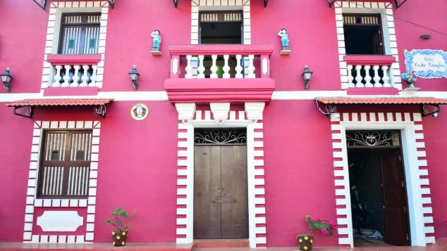 Make it Happen offers guided walks through Goa's colorful Fontainhas neighborhood.