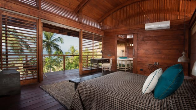Cabo Serai's cottages offer easy access to the sea.