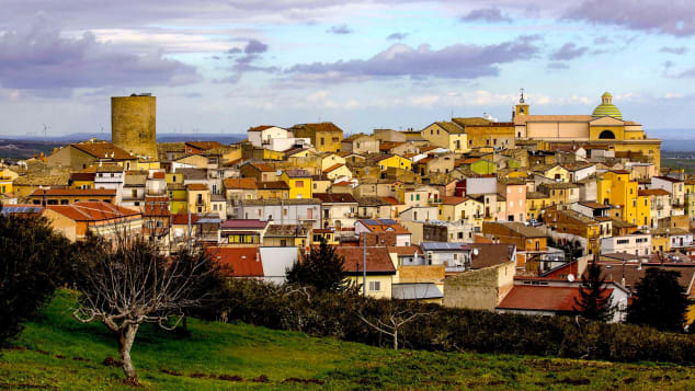 Biccari is surrounded by countryside with hiking trails and picnicking spots.