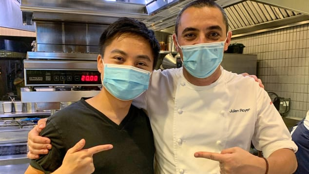 American software engineer Jon Lu has eaten at Michelin-starred Odette, helmed by chef Julien Royer, four times.