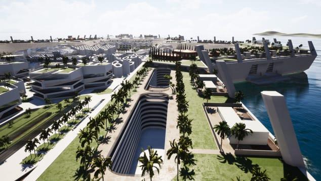 Blue Estate - First floating luxury real estate development