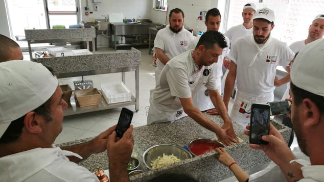 AVPN has been training pizza-makers since 1984.
