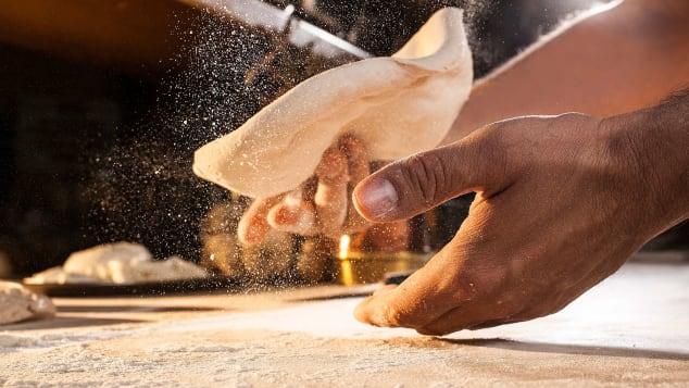 For Julia Buckley's story on the history of pizza. Photos from Pizza e Scuola AVPN