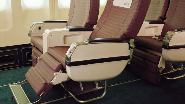 EVA Air's premium economy cabins were among the world's first.