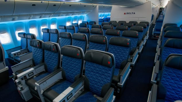 More legroom is a key benefit of premium economy seats.
