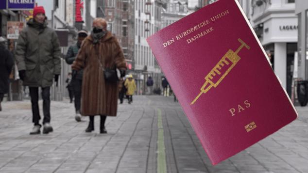 coronavirus denmark vaccine electronic passports Dos Santos pkg intl ldn vpx_00004716