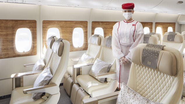 Emirates recently debuted its latest A380 with luxurious premium economy seats.