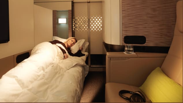 Etihad Apartments are the airline's less luxurious first class offering. We'll take one.