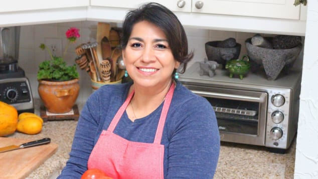 Mely Martinez is the creator of Mexico in My Kitchen. She was born and raised in Mexico.