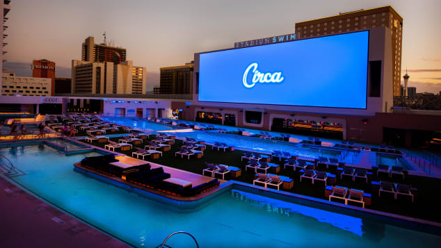 The pool at Circa Resort & Casino is called Stadium Swim.