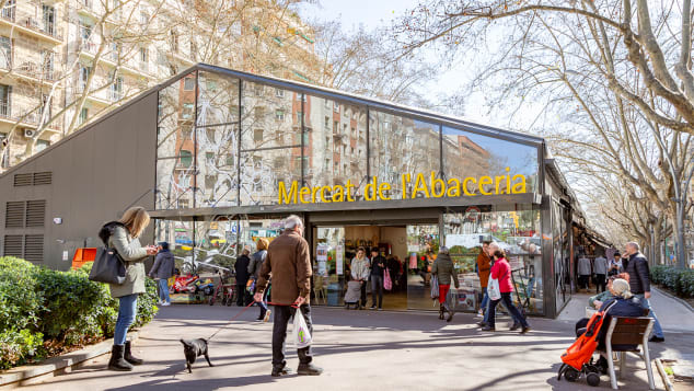 Bike-friendly Passeig de Sant Joan in Barcelona, took the number two spot on Time Out's list.