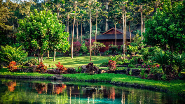 Cottage spa pribadi tersebar di antara dedaunan yang rimbun di Sensei Lanai