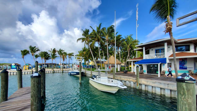 You'll find Bimini Big Game Club and Marina on North Bimini, which is off the coast from Miami, Florida.