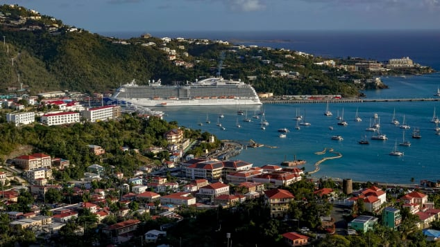St. Thomas saw a lot of cruise ship activity before the pandemic.