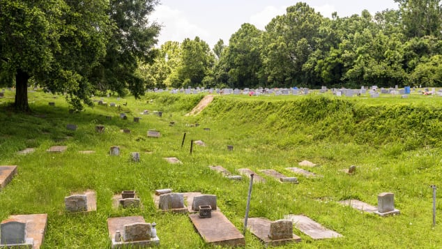 Some of the graves of those who survived the Clotilda voyage can be found at the Old Plateau Cemetery in Africatown.