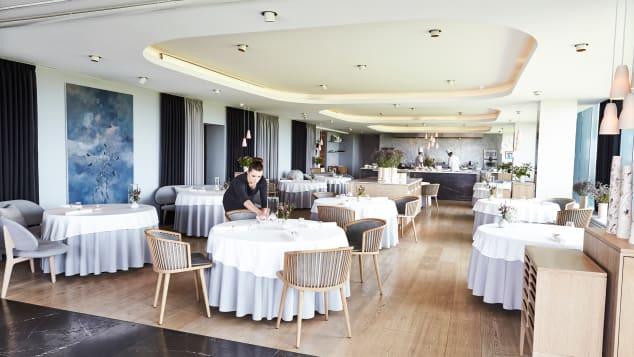 Rasmus Kofoed's Copenhagen restaurant Geranium placed second on the 2021 list.
