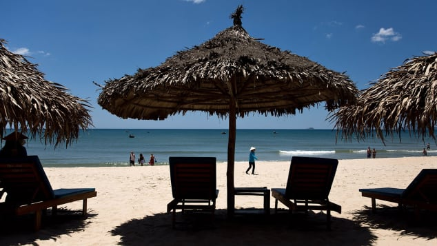 An Bang Beach is located just a few kilometers outside Hoi An.