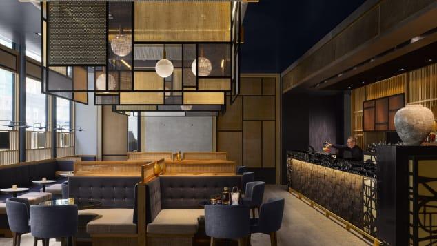 Best new hotels 2018 Nobu Hotel Shoreditch interior