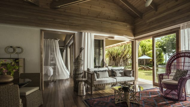 Best new hotels 2018 Four Seasons Seychelles at Desroches Island interior