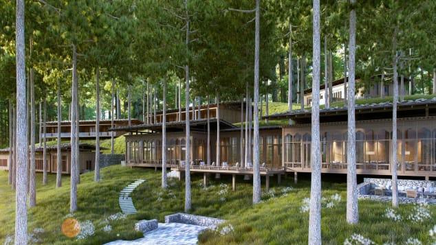 Best new hotels 2018 Six Senses Bhutan forest