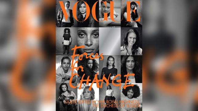 The Duchess chose 15 change-making women to appear on the cover of the magazine.