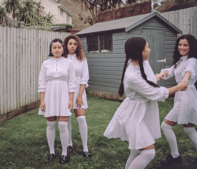 "Arabelle Zhuang's ""Reverie"" series explores the friendships formed in girlhood."