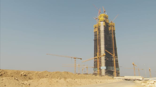 Jeddah tower full