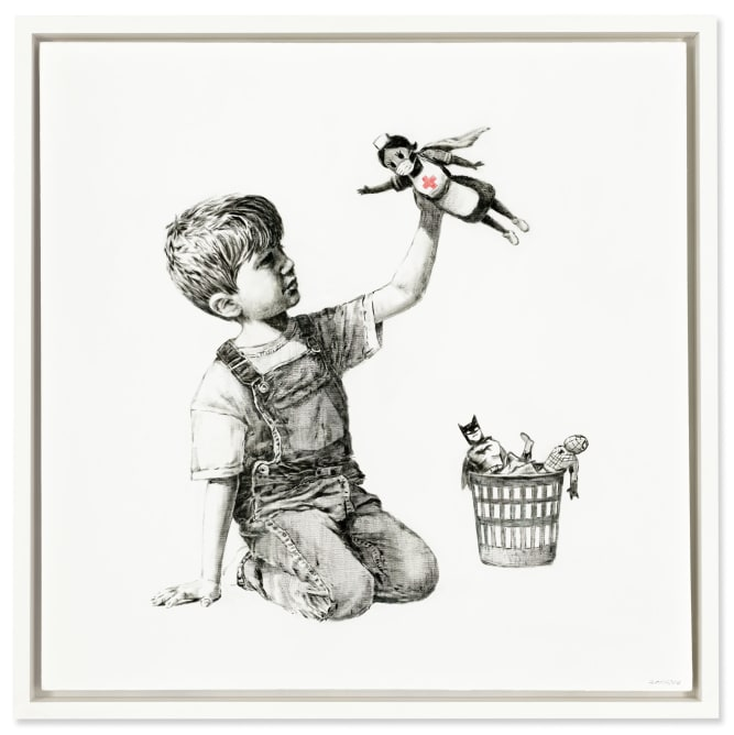 'Game Changer' by Banksy