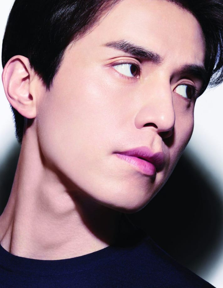 Actor Lee Dong-wook poses for Boy de Chanel.