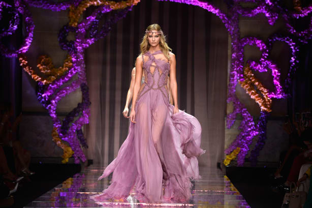 couture - versace - karlie kloss
