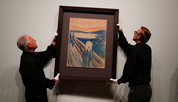 Edvard Munch l'urlo