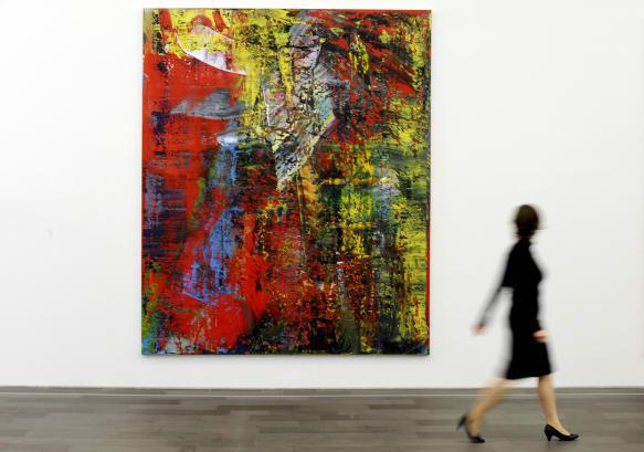 Gerhard Richter Abstraktes Bild