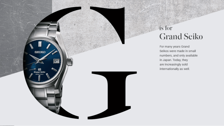 g orologi az grand seiko new