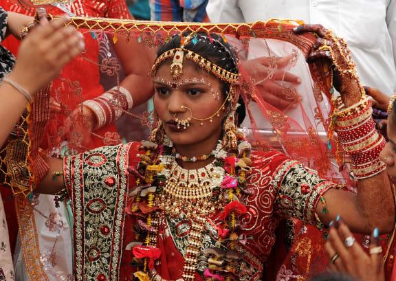 Rajasthan woman wedding