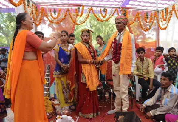 Indian mass wedding Ahmedabad