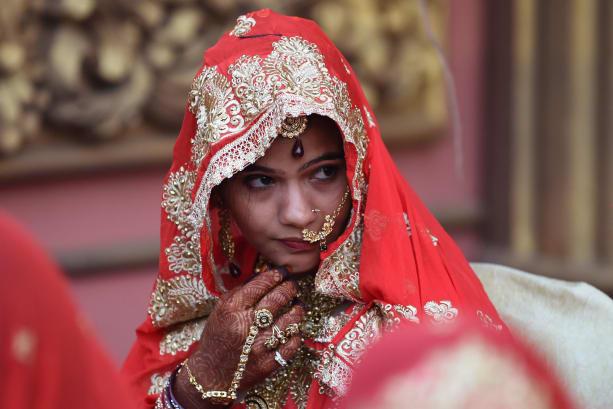 Indian muslim bride