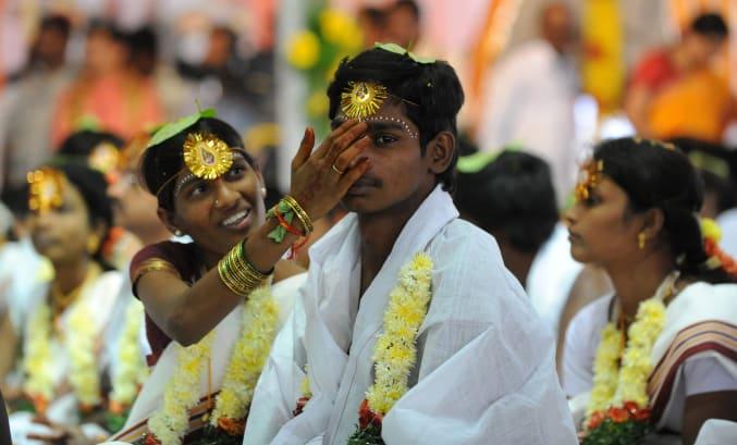 Hyderabad wedding headwear