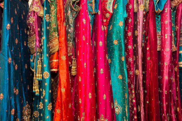 Traditional Rajasthan bridal wear
