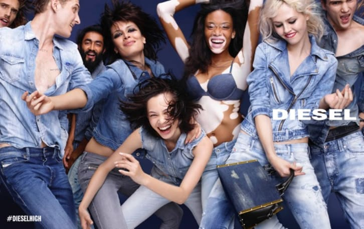 diesel fashion ad that celebrated diversity and beauty