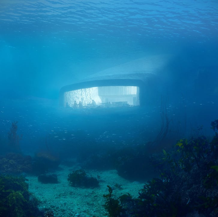 The structure will double as a marine biology lab.