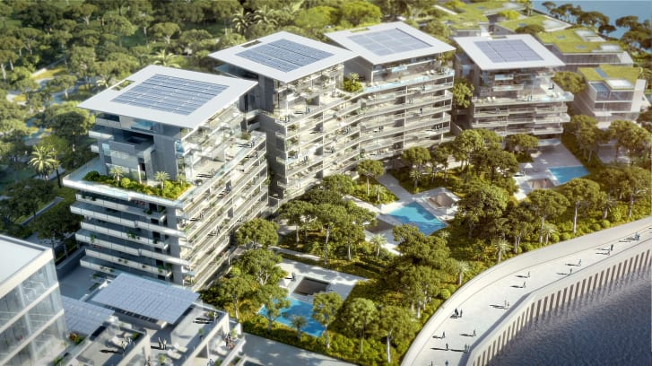 Valode hopes Portier Cove will not only be a place of residence, but a place of life.