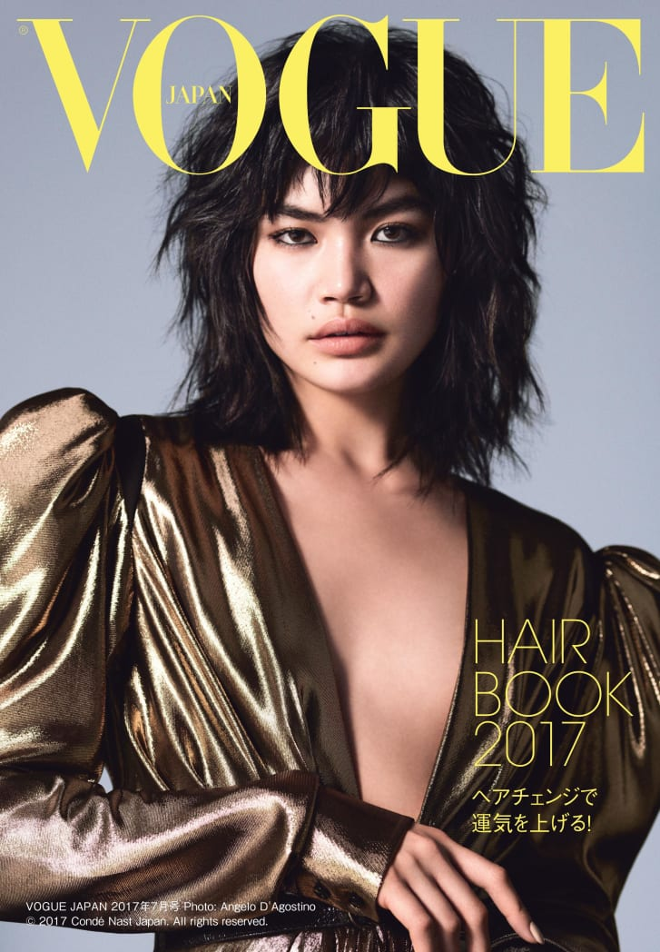 Successful hafu models like Fukushi -- and contemporaries like Kiko Mizuhara and Rola -- have become fashion week regulars, their faces regularly splashed onto international fashion campaigns and magazine covers. Here, Rina poses for Vogue Japan.