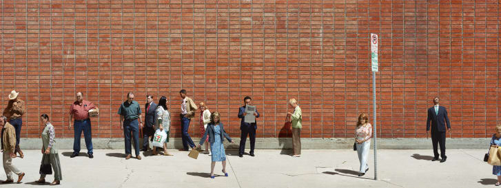 """See's Candies, Payless, Supercuts 1"" (2015) by Alex Prager"