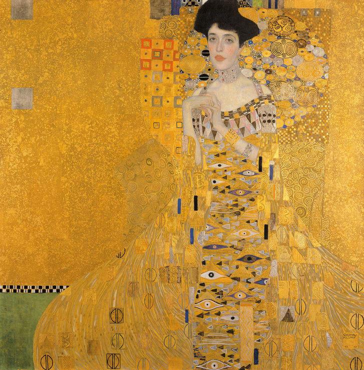 Adele Bloch-Bauer I by Gustav Klimt.