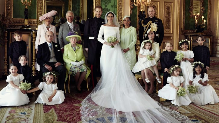 The official photographs were released on Kensington Palace's official Twitter account Monday.