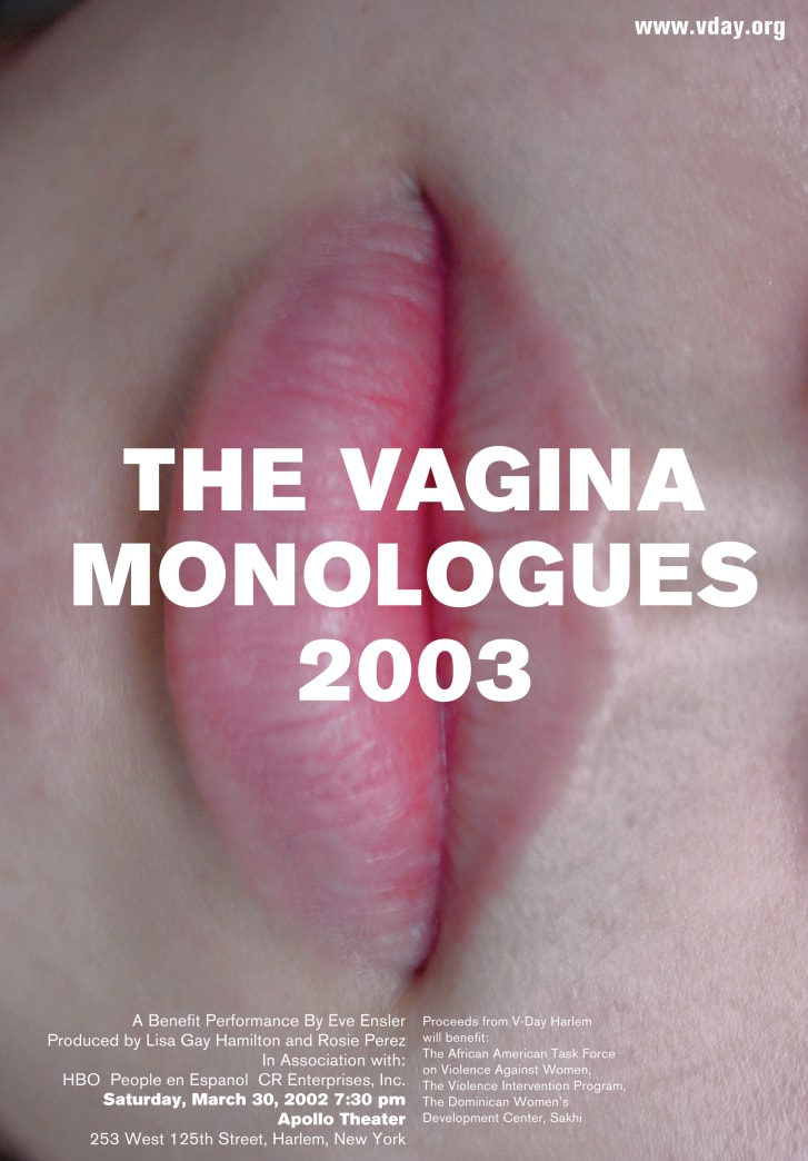 Don't miss the climax of the vagina monologues